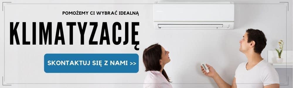 Banner kontaktowy - wybór klimatyzacji - ERCO Łódź