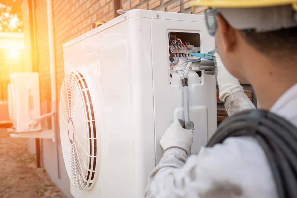 Montaż pompy ciepła z klimatyzacją