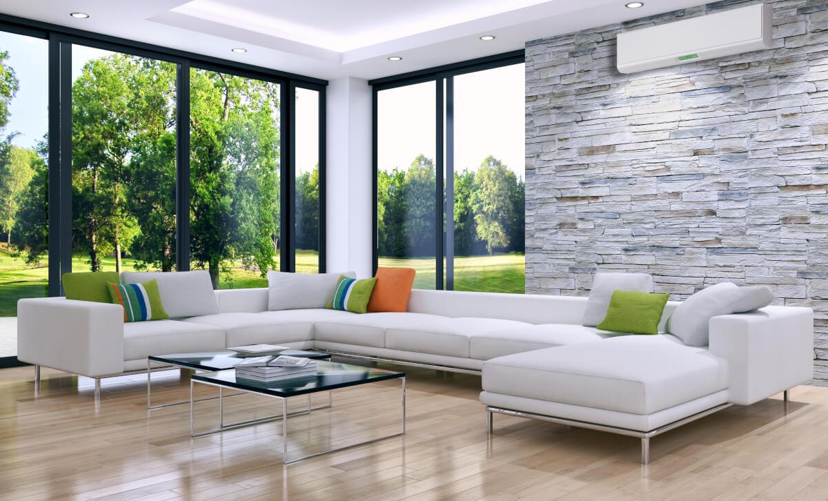 klimatyzator-multisplit-w-salonie-w-domu